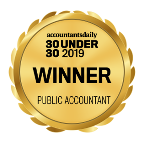 Accountants daily 30 under 30 public accountant award winner 2019