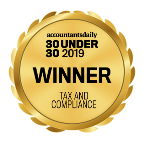 Accountants daily 30 under 30 tax and compliance award winner 2019