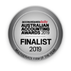 Accountants daily Australian accounting award finalist 2019