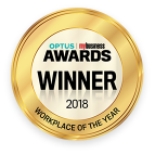 Optus workplace of the year award 2018 winner
