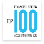 Financial Review top 100 accounting firms 2018